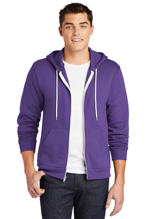 American Apparel ® Flex Fleece Zip Hoodie. F497W (Asphalt)