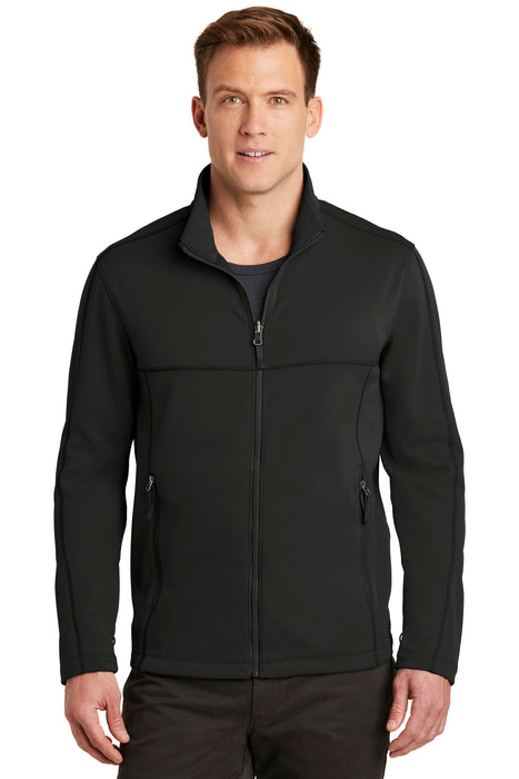 Port Authority ® Collective Smooth Fleece Jacket. F904 (Deep Black)