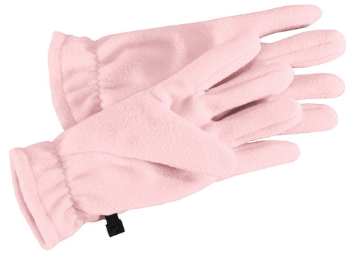 Port Authority® Fleece Gloves.  GL01 (Light Pink)