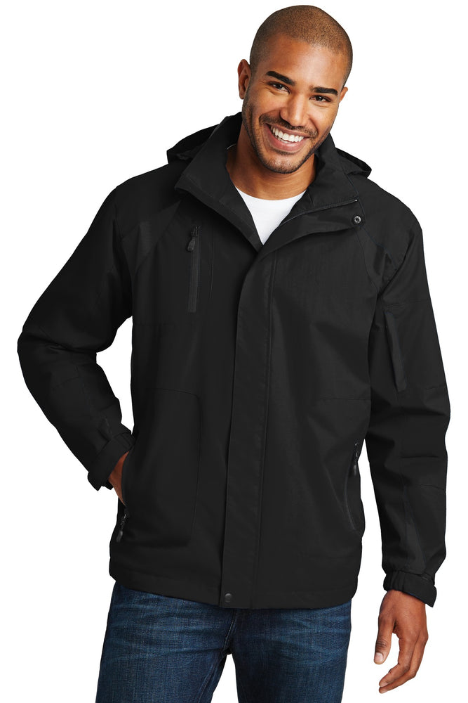 Port Authority® All-Season II Jacket. J304 (Black/Black)
