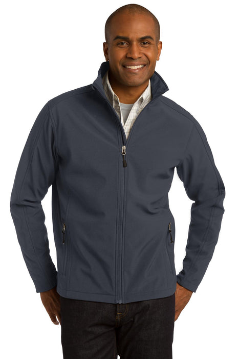 Port Authority® Core Soft Shell Jacket. J317 (Battleship Grey)