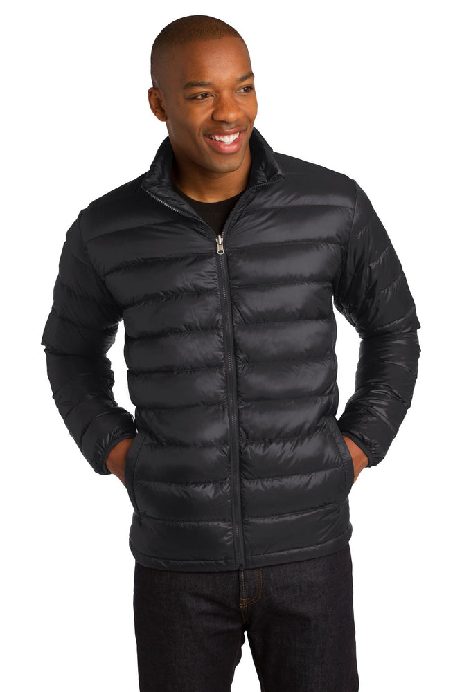 Port Authority® Down Jacket. J323 (Black)