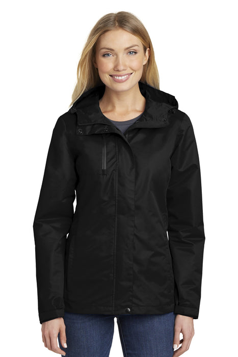 Port Authority® Ladies All-Conditions Jacket. L331 (Black)
