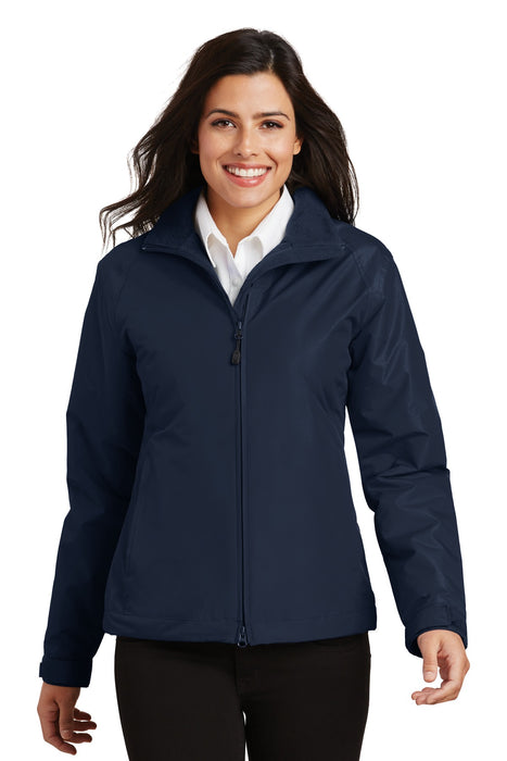Port Authority® Ladies Challenger™ Jacket. L354 (True Navy/True Navy)