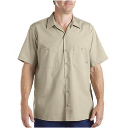 Product image of Khaki  Dickies Occupational LS535 - Short Sleeve Industrial Work Shirt