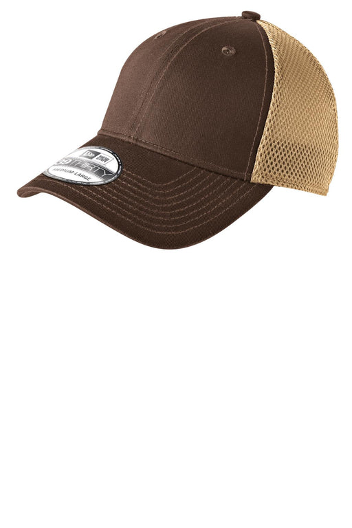 New Era® - Stretch Mesh Cap.  NE1020 (Chocolate/Khaki)