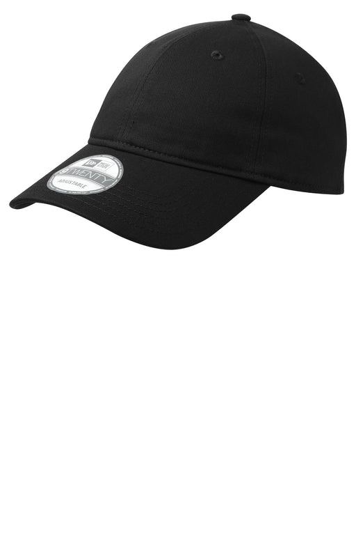 New Era® - Adjustable Unstructured Cap.  NE201 (Black)