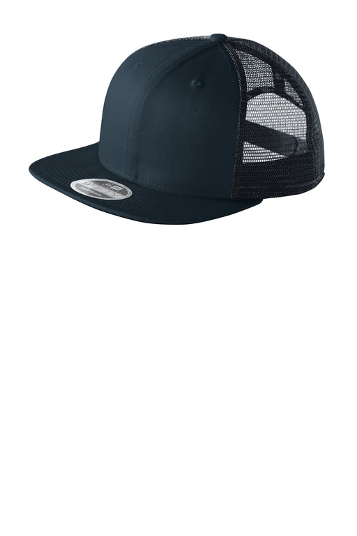 New Era® Original Fit Snapback Trucker Cap. NE403 (Deep Navy/Deep Navy)