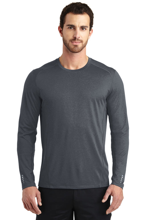 OGIO® ENDURANCE Long Sleeve Pulse Crew. OE321 (Gear Grey)