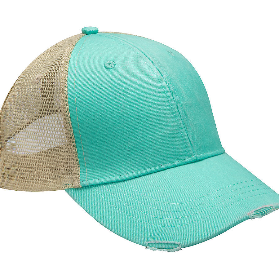 Product image of Seafoam/Tan Adams Headwear OL102 - Ollie