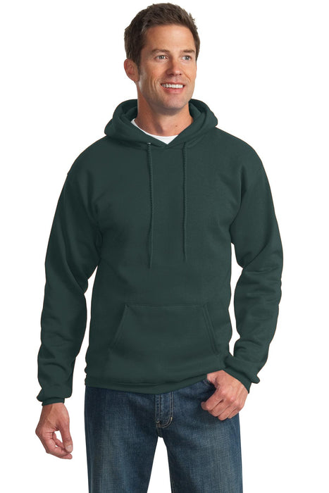 Port & Company® Tall Essential Fleece Pullover Hooded Sweatshirt. PC90HT (Dark Green)