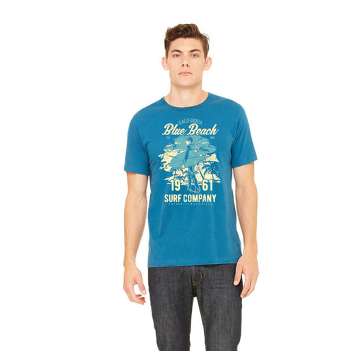 Beach Blue Graphic Tee