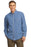 Port & Company® - Long Sleeve Value Denim Shirt. SP10 (Faded Blue)