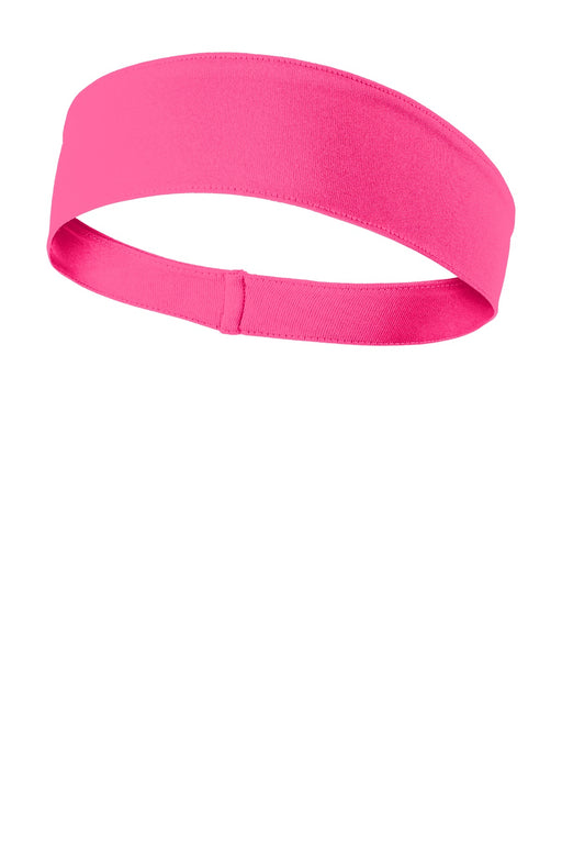 Sport-Tek® PosiCharge® Competitor™ Headband. STA35 (Neon Pink)