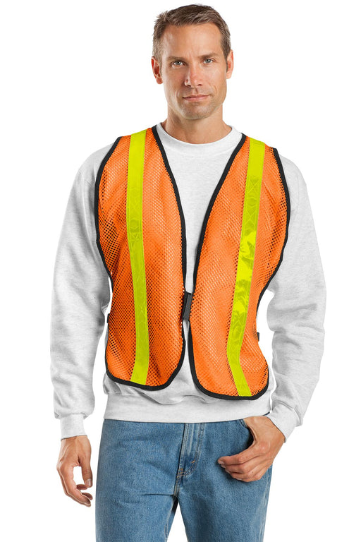 Port Authority® Mesh Enhanced Visibility Vest.  SV02 (Safety Orange)