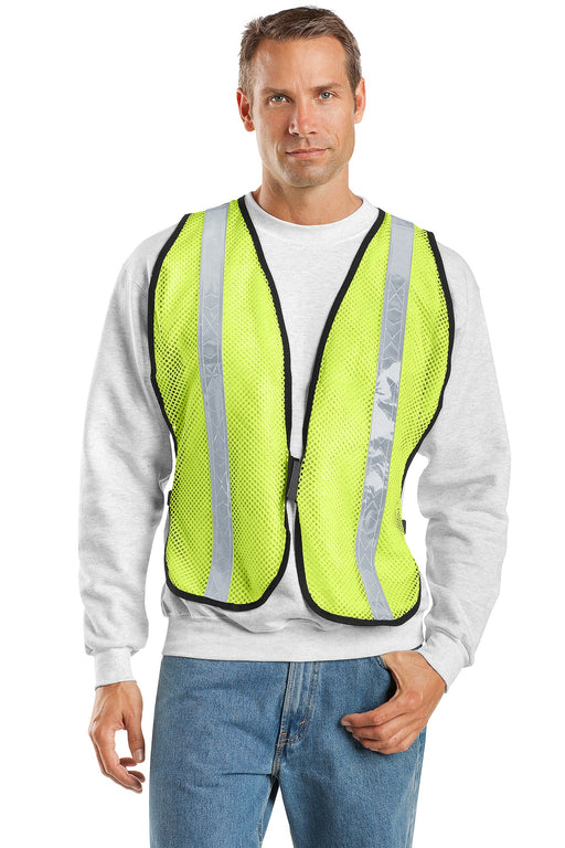 Port Authority® Mesh Enhanced Visibility Vest.  SV02 (Safety Yellow)