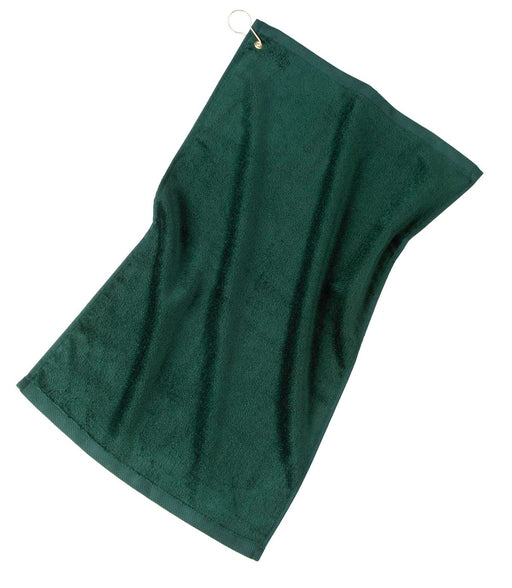 Port Authority® Grommeted Golf Towel.  TW51 (Hunter)