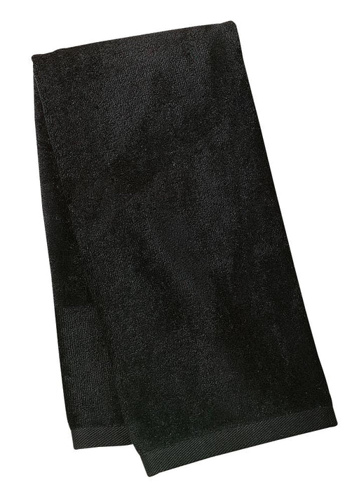 Port Authority® Sport Towel.  TW52 (Black)