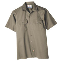 Product image of Khaki Dickies Occupational 1574 - Short Sleeve Work Shirt