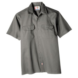 Product image of Silver Grey Dickies Occupational 1574 - Short Sleeve Work Shirt