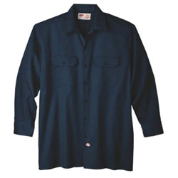 Product image of Dark Navy Dickies Occupational 574 - Long Sleeve Original Fit Work Shirt