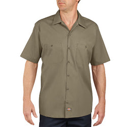 Product image of Desert Sand Dickies Occupational LS535 - Short Sleeve Industrial Work Shirt