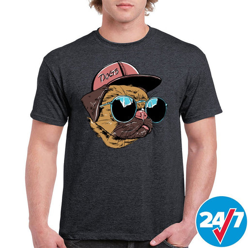 Good Dog in Sunglasses Graphic Tee