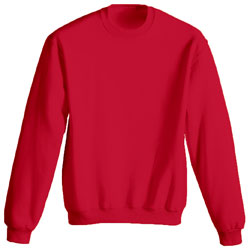 Product image of Red Gildan 18000B - Heavy Blend Youth Crewneck Sweatshirt