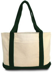 Product image of Natural/Forest Liberty Bags 8869 - Leeward Boat Tote