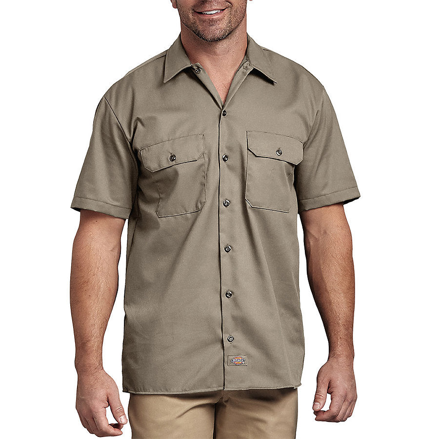 Product image of Desert Sand Dickies Occupational 1574 - Short Sleeve Work Shirt