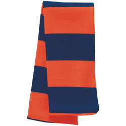 Product image of Navy/Orange Sportsman SP02 - Rugby Knit Scarf Discontinued