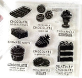 CTMH A Chocolate Affair Stamp Set (retired)