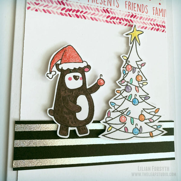 Operation Smile Fundraiser -  Beary Christmas Card