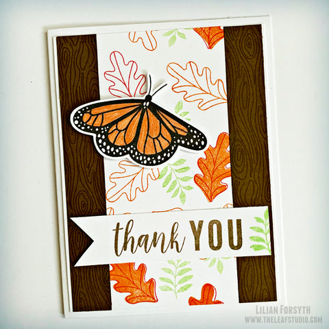 Operation Smile Fundraiser -  Butterfly Thank You Card