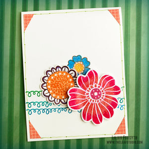 Operation Smile Fundraiser -  Floral Bouquet Card