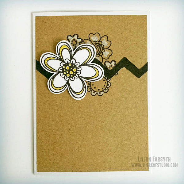 Floral Celebration Polymer Stamp Set (S2008) CTMH Close To My Heart Stamp of the Month