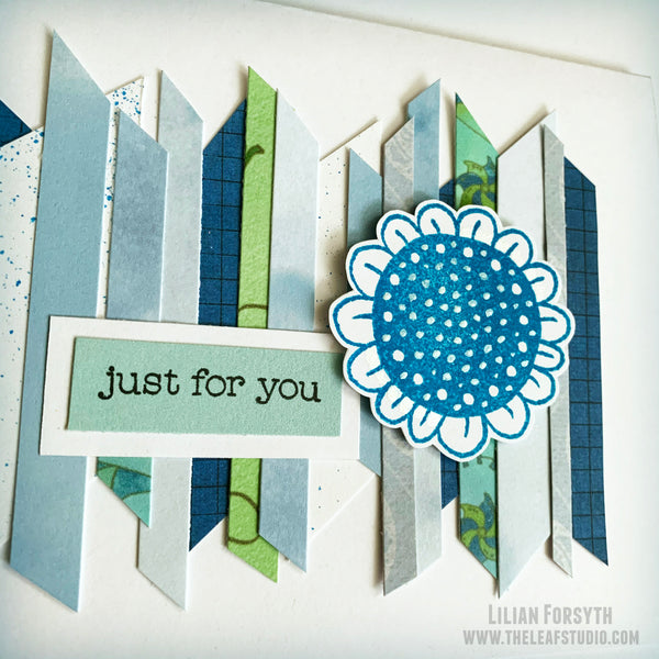 Operation Smile Fundraiser - Just for You Flower Card