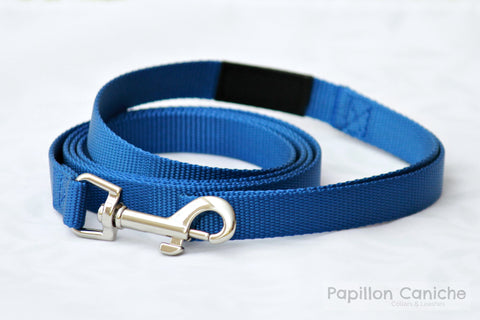 Kerry Blue Nylon Dog Leash by Papillon Caniche