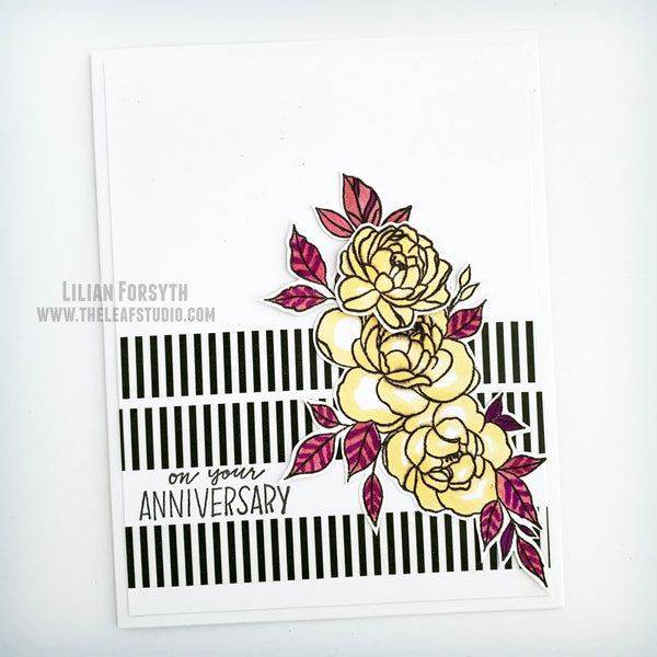 Happiness Never Grows Old PhotoPolymer Stamp Set (S2012) CTMH Close To My Heart Stamp of the Month December 2020