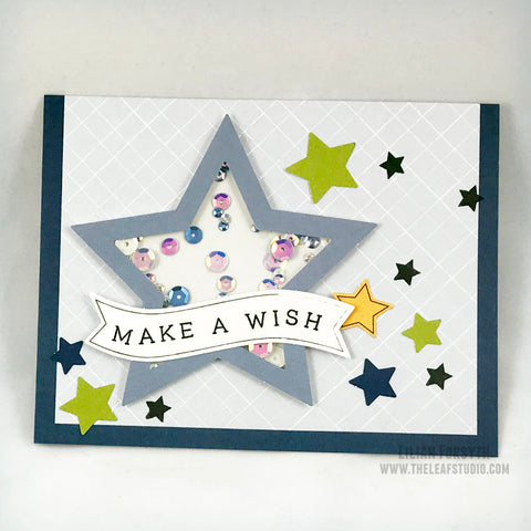 Operation Smile Fundraiser - Birthday Shaker Card
