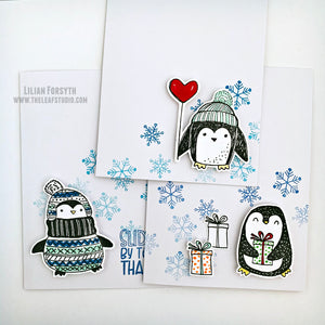 Operation Smile Fundraiser - Winter Penguins Card Set of 3
