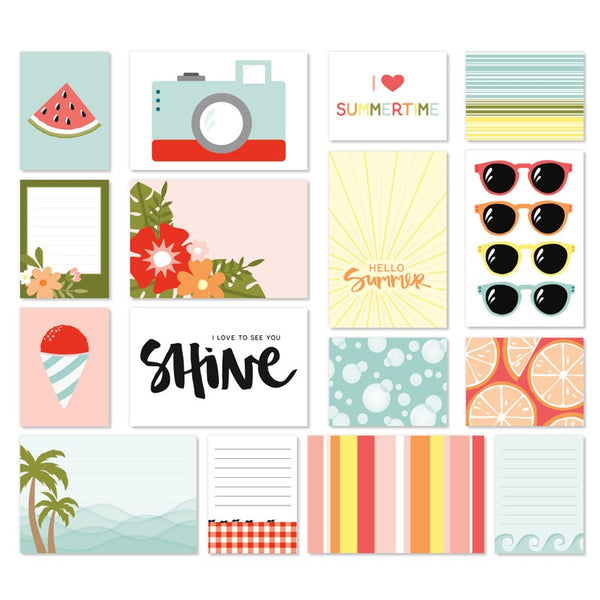 CTMH Summer Vibes Pre-Cut Scrapbooking Kraftie Kit Add-Ons