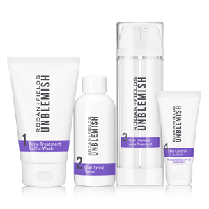 R+F UNBLEMISH REGIMEN FOR ACNE