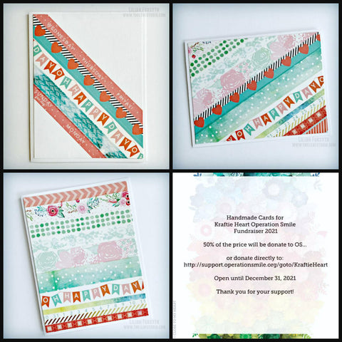 Operation Smile Fundraiser - Happy Day Card Set of 3