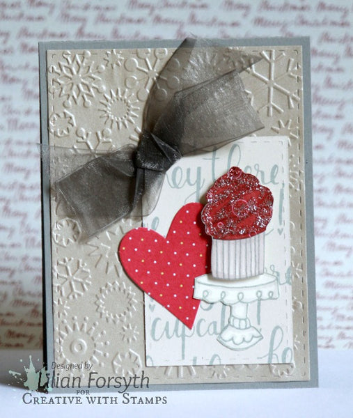 Cutie Pie Polymer Stamp Set (S1412) CTMH Close To My Heart Stamp of the Month December 2014