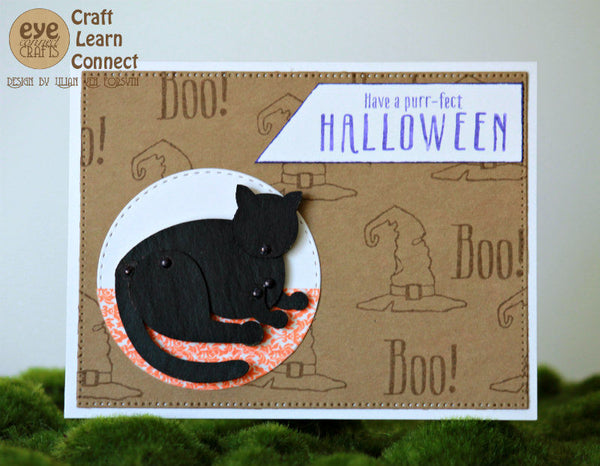 Purr-fect Halloween S1608 CTMH Close To My Heart Stamp of the Month Set