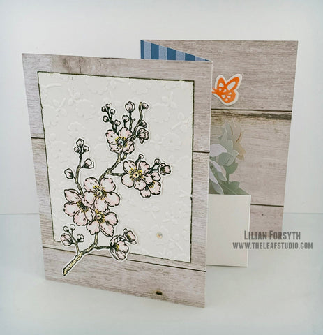 Customizable TriFold Potted Plants Handmade Greeting Card | The Leaf Studio