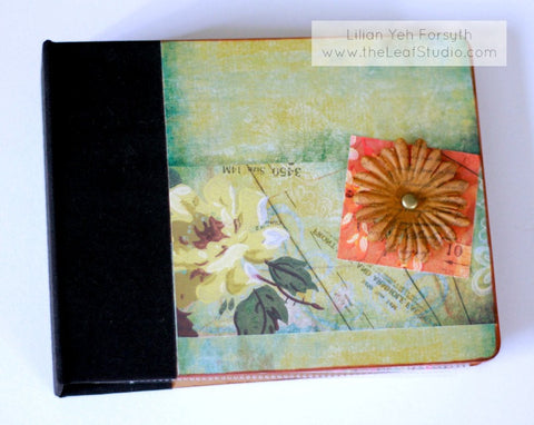 6x6 Madeleine Pre-Made Mini Album (12 pages) by The Leaf Studio