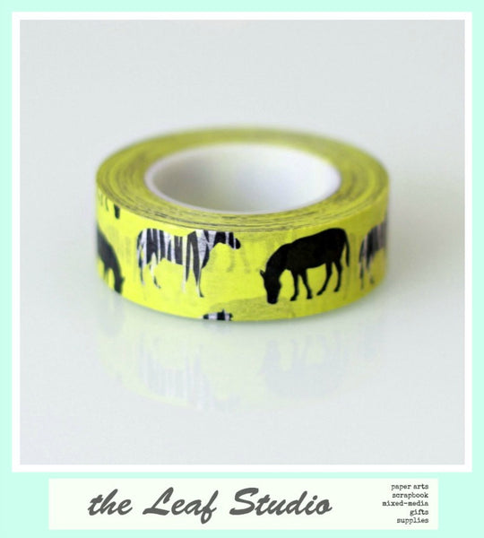 Washi Tape Zebras Fun Tape Animal Party Crafts Cards Gifts