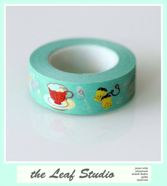 Washi Tape Tea Time Fun Tape Crafts Cards Gifts